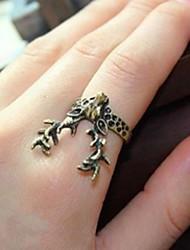 abordables -anneau de antilope vintage bronze chanceux des femmes star style féminin classique