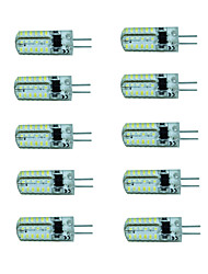 cheap -10pcs 150-180 lm G4 LED Spotlight 48 leds SMD 3014 Warm White Cold White AC 220-240V