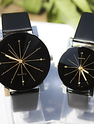Couple's New Explosion Models Gear Graphic Design Dial Diamond Fashion Business Quartz Watch Cool Watches Unique Watches