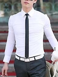 Afslappede skjorter ( Bomulds Blanding ) MEN - Casual Lang Ærmet