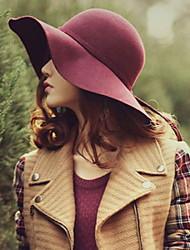 Недорогие -Жен. Для вечеринки Широкополая шляпа - Современный Однотонный