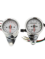 Dual Odometer Speedometer and Tachometer Motorcycle with Backlight