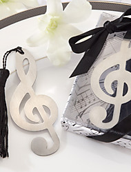 cheap -Musical Note Pattern Tassels Alloy Bookmark