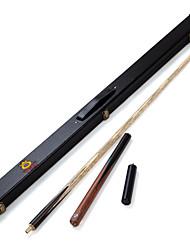 Cue Sticks & Accessori Snooker English Biliardo Blu Tre quarti due pezzi Cue Legno