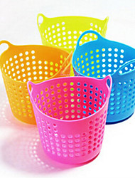cheap -Creative Home Furnishing Mini Desktop Mesh Storage Basket Organizer Boxes (Ranodm Color)