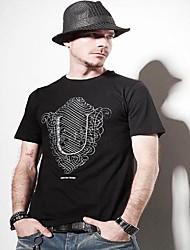 Недорогие -мужская мода шею хлопка футболку