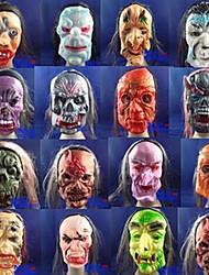 Недорогие -Странное перемещения маску ужаса с резиновым лицом