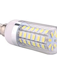 economico -ywxlight® e14 led luci al mais 60 smd 5730 1200 lm bianco caldo bianco freddo ac 220-240 ac 110-130 v