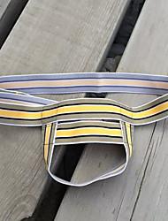 baratos -Homens Super Sexy G-string Underwear - Buraco, Listrado Cintura Baixa