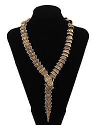 levne -Dámské Had Přizpůsobeno Velké šperky Prohlášení Náhrdelníky Prohlášení Náhrdelníky , Párty