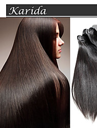 cheap -Mix Length Virgin Indian Remy Hair Weave,  100% Indian Hair Extensions Straight Raw Virgin Indian Hair