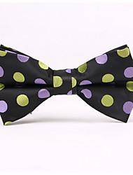 Недорогие -мужская вечеринка / вечерняя свадьба формальная волновая точка жаккардовый лук галстук