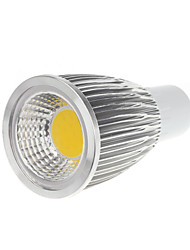 cheap -5W GU10 LED Spotlight MR16 1 COB 450-550lm Warm White Cold White 3000-3500K AC 100-240V