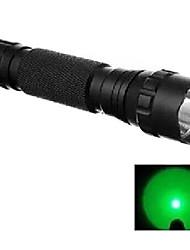 economico -WF-501B Torce LED LED 240 lm 1 Modo Cree XR-E Q5 Impugnatura antiscivolo Campeggio/Escursionismo/Speleologia Caccia Viola Giallo Rosso