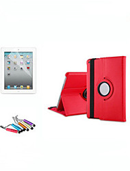 For iPad (2017)360 Degree Rotating Stand Leather Case Smart Cover For iPad Pro 9.7 Air Air 2 mini 123 mini4