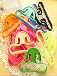 Carry Food Machine Handle Carry Bag Hanging Ring Shopping Tools Durable Random Color