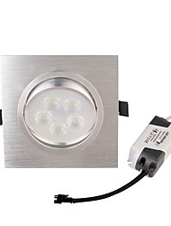 LED Recessed Lights 5 leds High Power LED Decorative Warm White 450lm 3000K AC 85-265V