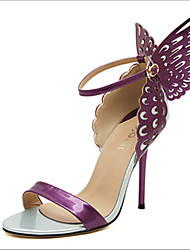 cheap -Women's Shoes Stiletto Heel Heels Sandals Outdoor/Dress Purple/Gold/Beige