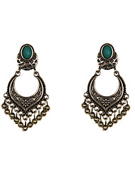 cheap -Women's Drop Earrings Resin Alloy Jewelry Black Dark Green Wedding Party Daily Casual Sports Costume Jewelry