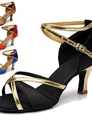 """Scarpe da ballo - Disponibile """"su misura"""" - Donna - Latinoamericano - Customized Heel - Eco-pelle - Nero / Blu / Marrone / Rosso"""