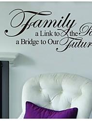 , um futuro bridgetoour decalque da parede Citação zooyoo8025 vinil adesivo de parede removível diy alinktopassed familiar