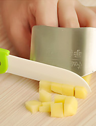 cheap -Stainless Steel Finger Guard Kitchen Hand Protector 6.5x4.5x2cm