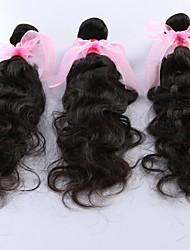Cabelo Humano Ondulado Cabelo Brasileiro Ondulado Natural 3 Peças tece cabelo
