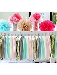 cheap -Pearl Paper Wedding Decorations Beach Theme Garden Theme Floral Theme Butterfly Theme Classic Theme Fairytale Theme Spring Summer Fall