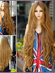 cheap -Points in The Long Bangs Long Curly Hair Wig Long Air Volume 1M