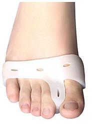 Недорогие -На все тело Ступни Поддерживает Toe Сепараторы и мозолей Pad Коррекция осанки Пластик