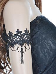 vintage blonder kvast kæde armbånd klassisk feminin stil