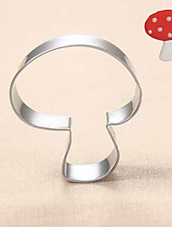 cheap -Mushroom Shape Cookie Cutters Fruit Cut Molds Stainless Steel