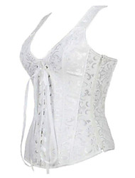 cheap -Women's Elegant Brocade Bridal Corset Breathable comfortable soft sexy close-fitting