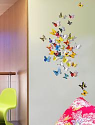 Недорогие -Животные 3D Наклейки 3D наклейки Декоративные наклейки на стены Наклейки на холодильник,Винил материал Положение регулируетсяУкрашение
