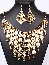 cheap -Jewelry Set Vintage Party Work Casual Statement Jewelry Party Alloy Necklace Earrings