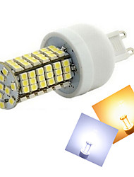 cheap -G9 LED Corn Lights T 144 SMD 3528 500-600 lm Warm White Cold White 2800-3500/6000-6500 K AC 220-240 V