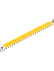 youoklight® 2шт 18w 1700lm 6500K COB светодиодный белый свет бар - серебро + желтый (12 ~ 14V)