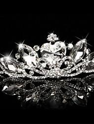 Недорогие -смола тиары головной убор свадебная вечеринка элегантный классический женский стиль