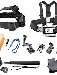 abordables -Accessoires Clip Vis Buoy Grande Fixation Ventouse Caméra Sportive Avec Bretelles Poignées Monopied Fixation Haute qualité Pour Caméra