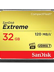 Недорогие -SanDisk 32 Гб Compact Flash  CF Card карта памяти EXTREME 800X