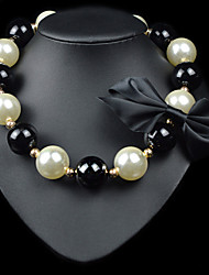 cheap -Women's Strands Necklace - Pearl Necklace Jewelry For Party, Daily