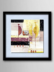 cheap -Oil Paintings One Panel Modern Abstract Hand-painted Canvas Ready to Hang