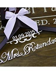 Bride Bridesmaid Flower Girl Couple Wood Aluminum Alloy Polyester Creative Gift Wedding Congratulations Thank You