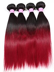 Human Hair vævninger Brasiliansk hår Lige 3 Dele hår vævninger