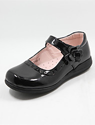 cheap -Girls' Shoes Wedding Round Toe  Oxfords Black