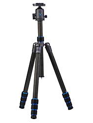 Недорогие -Углеродное волокно 450mm 4.0 Секции Цифровая камера Трипод