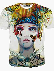 MEN - T-shirt - Stampa Rotondo - Maniche corte Cotone