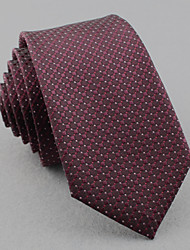 cheap -SKTEJOAN® Men's Korean Business Occupation Lattice Narrow Ties (Width: 6CM)