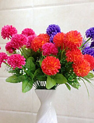 cheap -High Quality Artificial Flowers for Home Decoration Bright Color Flower Ball for Wedding Bouquet Holiday Decorations