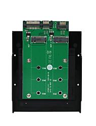 Недорогие -maiwo USB3.0 2x SATA to2x м.2 (ngff) преобразователь карты Интерфейсная карта kt005b